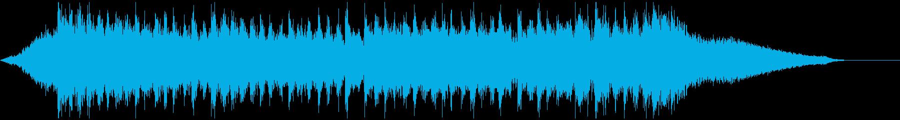企業VP映像、168オーケストラ、爽快Sの再生済みの波形