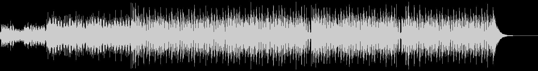 ずっしりビートの効いたEDMの未再生の波形