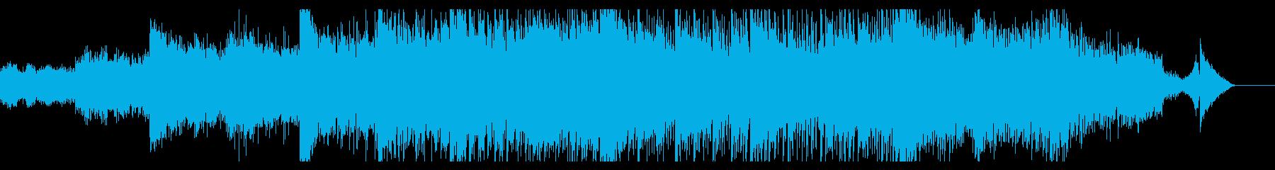 幻想的開始点を想起するエレクトロニカの再生済みの波形