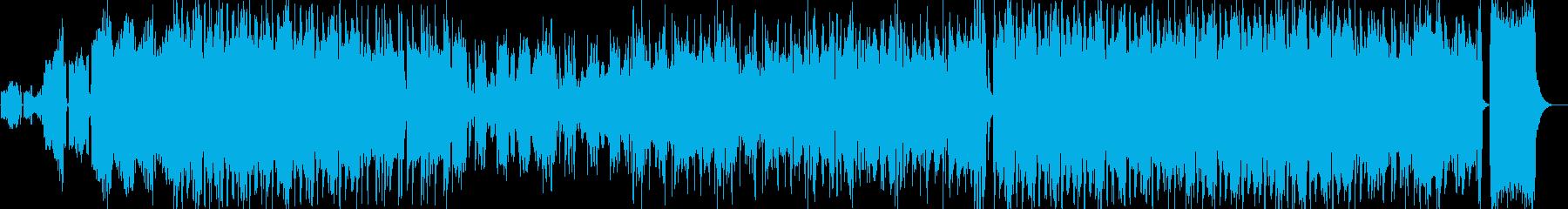 企業VPや映像にオーケストラオープニングの再生済みの波形
