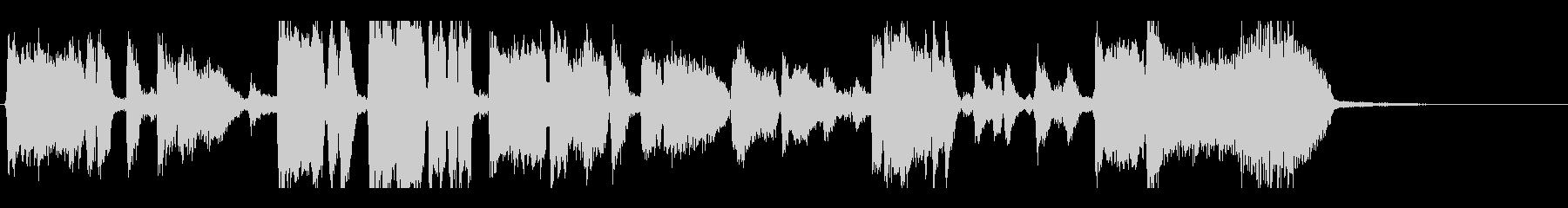 ジャズビッグバンドジングル30秒の未再生の波形