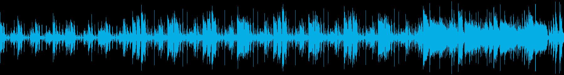 緊張感のあるジャズ・ファンク「潜入捜査」の再生済みの波形