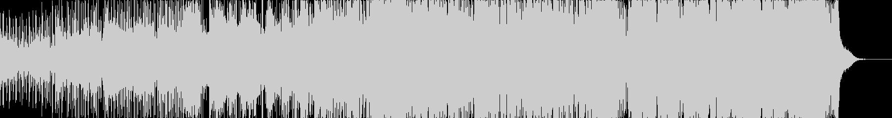 明るめなEDMの未再生の波形