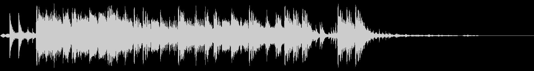 ボトムアップの未再生の波形