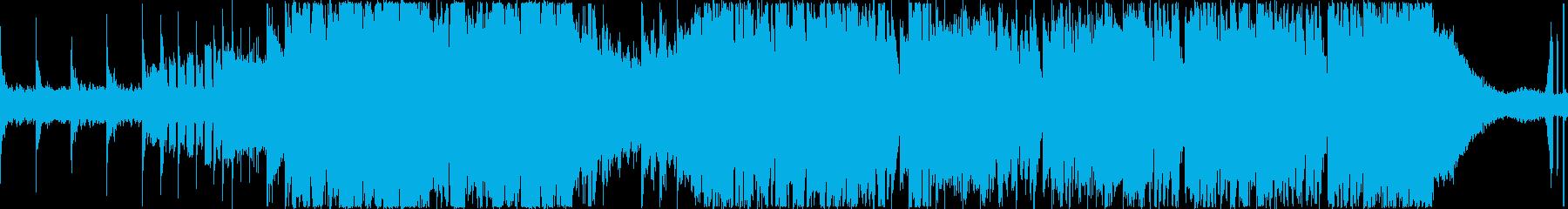 ダークでヘビーなダブステップ×メタルの再生済みの波形