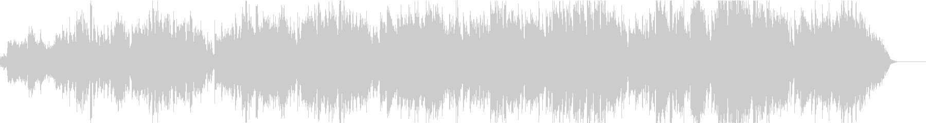 赤とんぼ(透き通った空間が広がる童謡)Bの未再生の波形