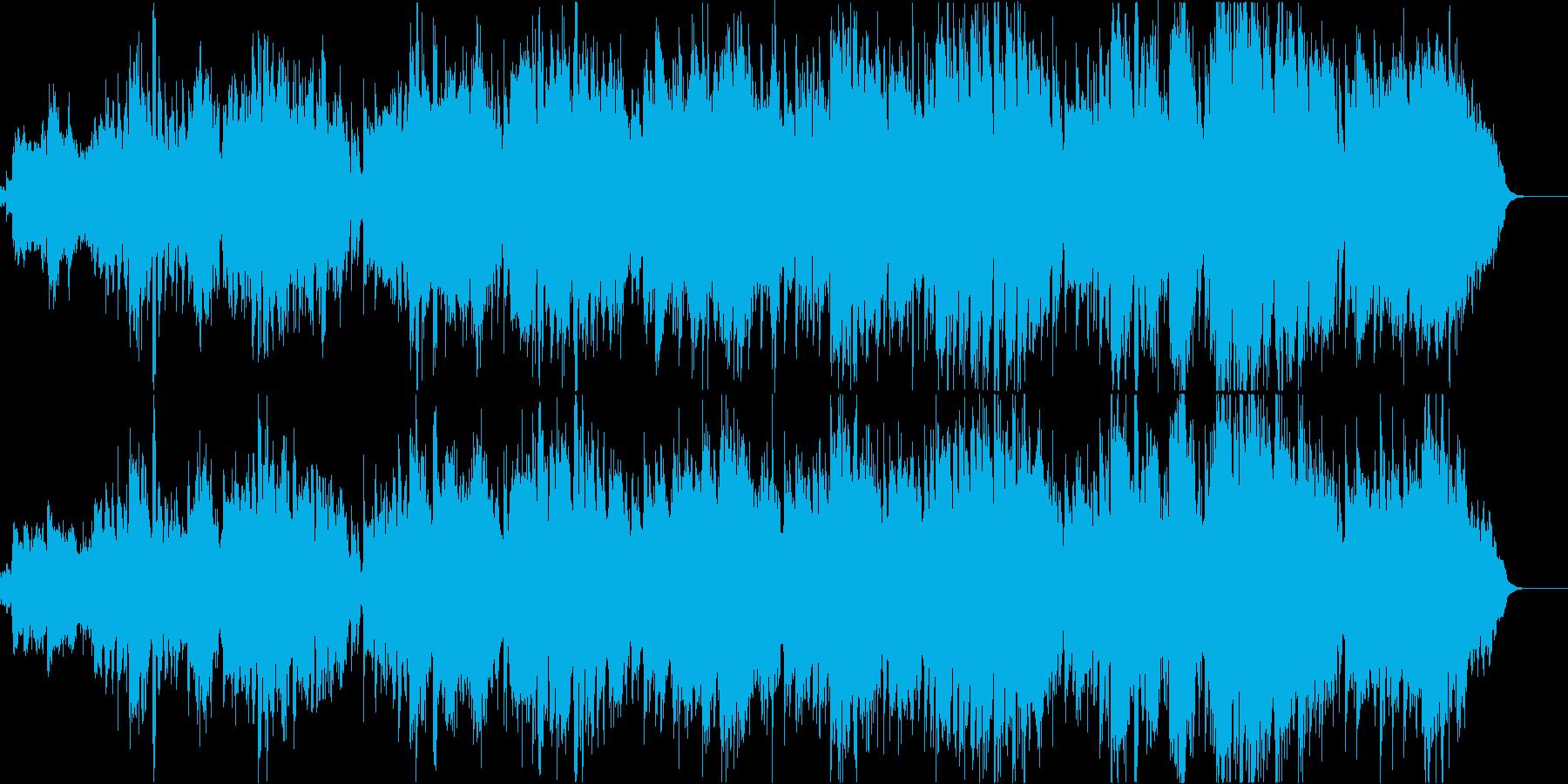 赤とんぼ(透き通った空間が広がる童謡)Bの再生済みの波形