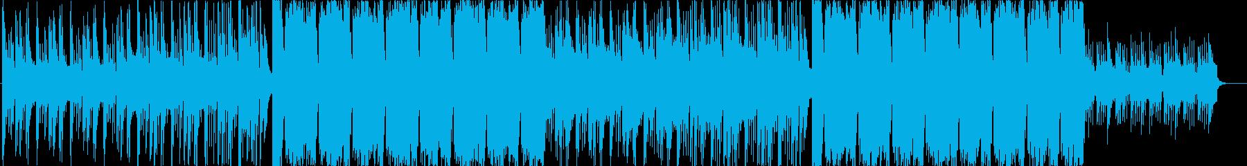 Future Bass・爽やか・かわいいの再生済みの波形