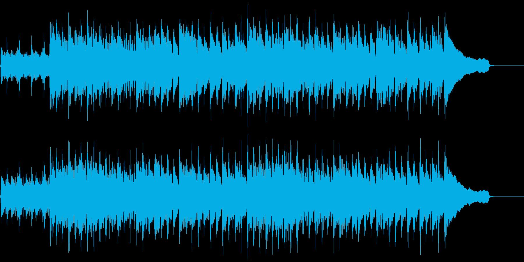 動画広告 30秒 ベル ギターB 楽しいの再生済みの波形