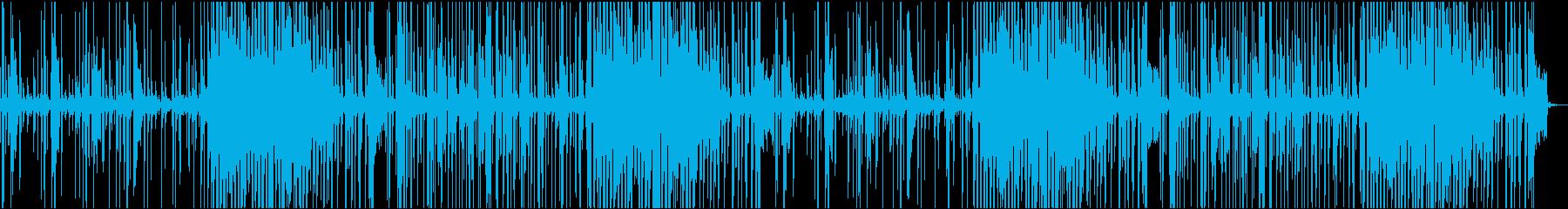 Vlog、実況、説明、商品紹介系BGM4の再生済みの波形
