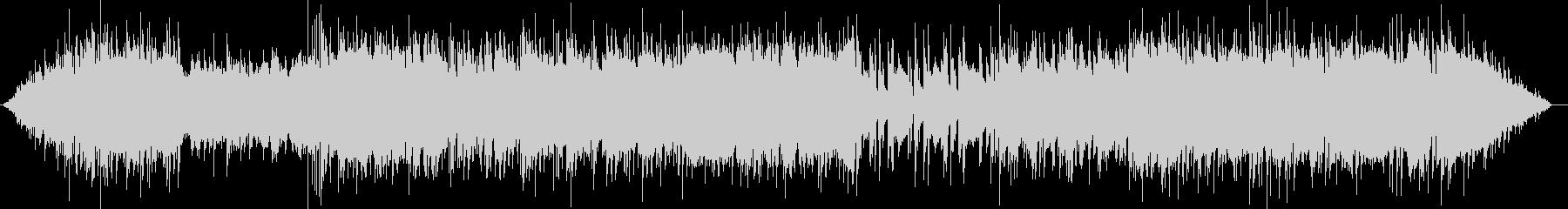 エレキギターが活躍するポップなBGMの未再生の波形