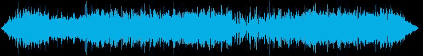 エレキギターが活躍するポップなBGMの再生済みの波形