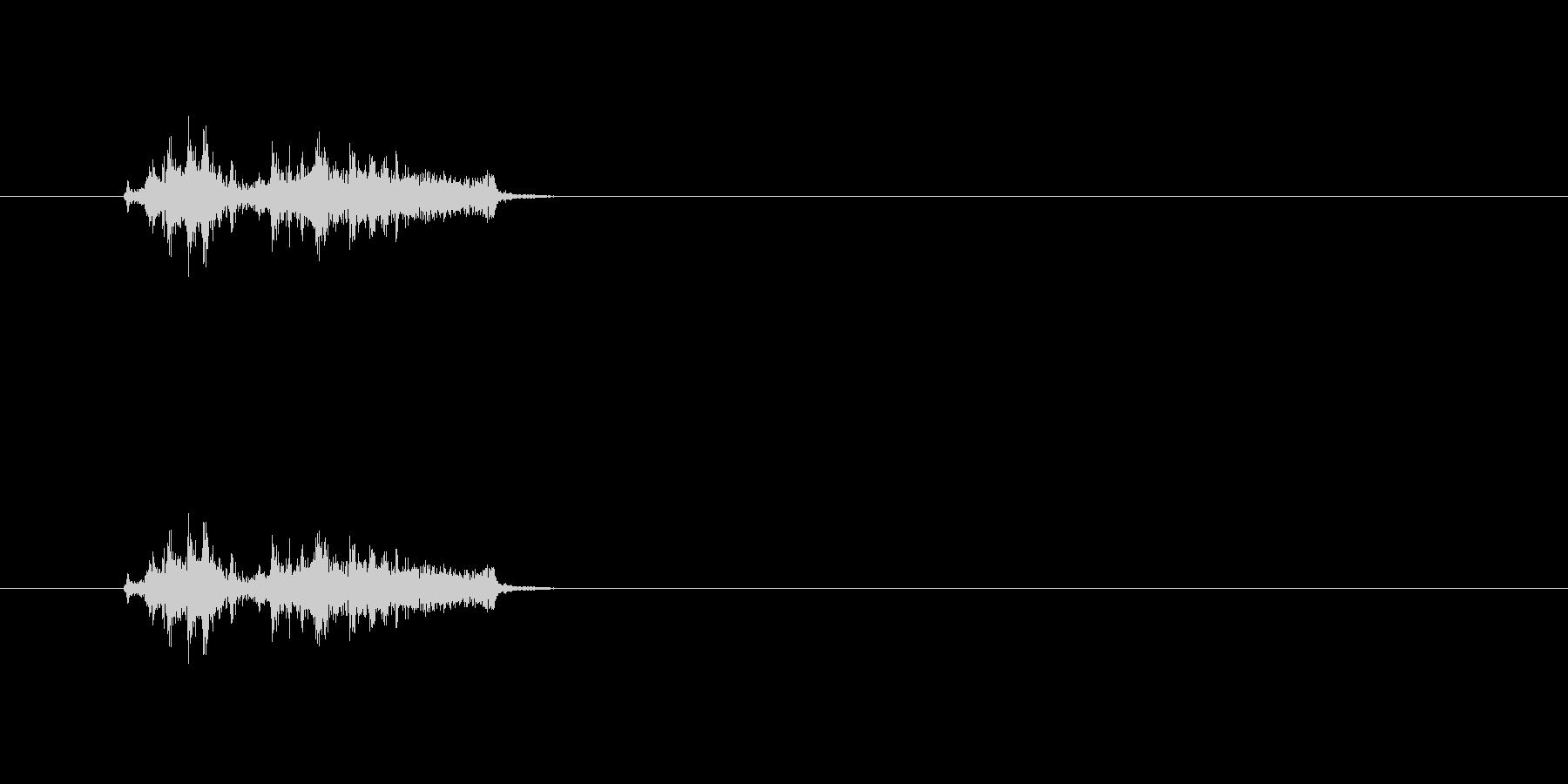 【カメラ シャッター03-1】の未再生の波形