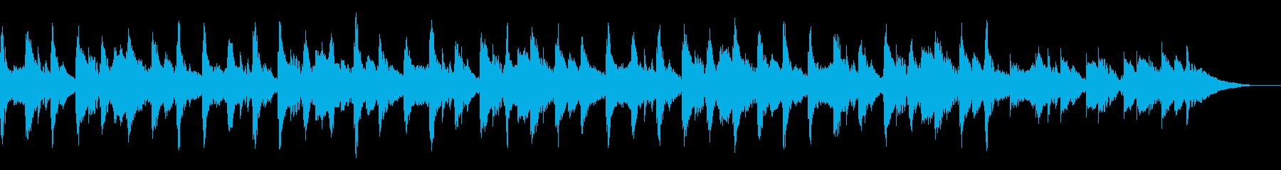 マリンバが鳴るクラシカルなアンビエントの再生済みの波形