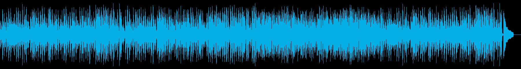優雅で軽快なジャズピアノ名曲の再生済みの波形