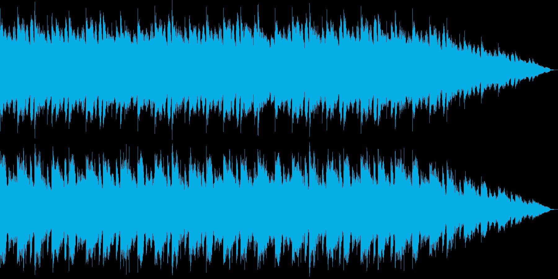 アコギを使った、ゆったりしたバラードの再生済みの波形