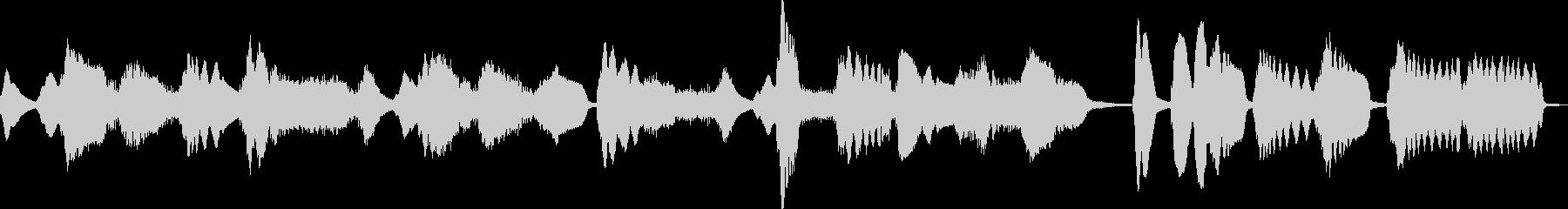 ハッピーバースディトゥーユー/リコーダーの未再生の波形