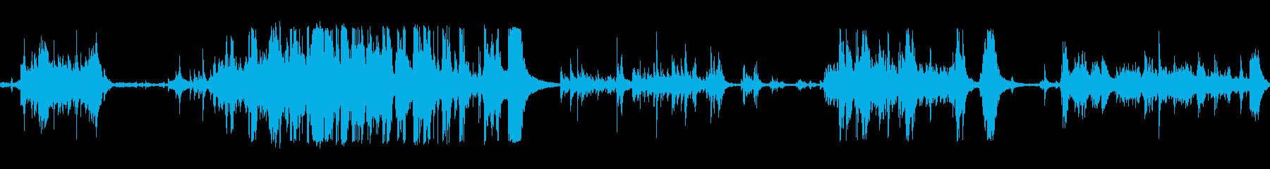 金属ドラムロールの再生済みの波形