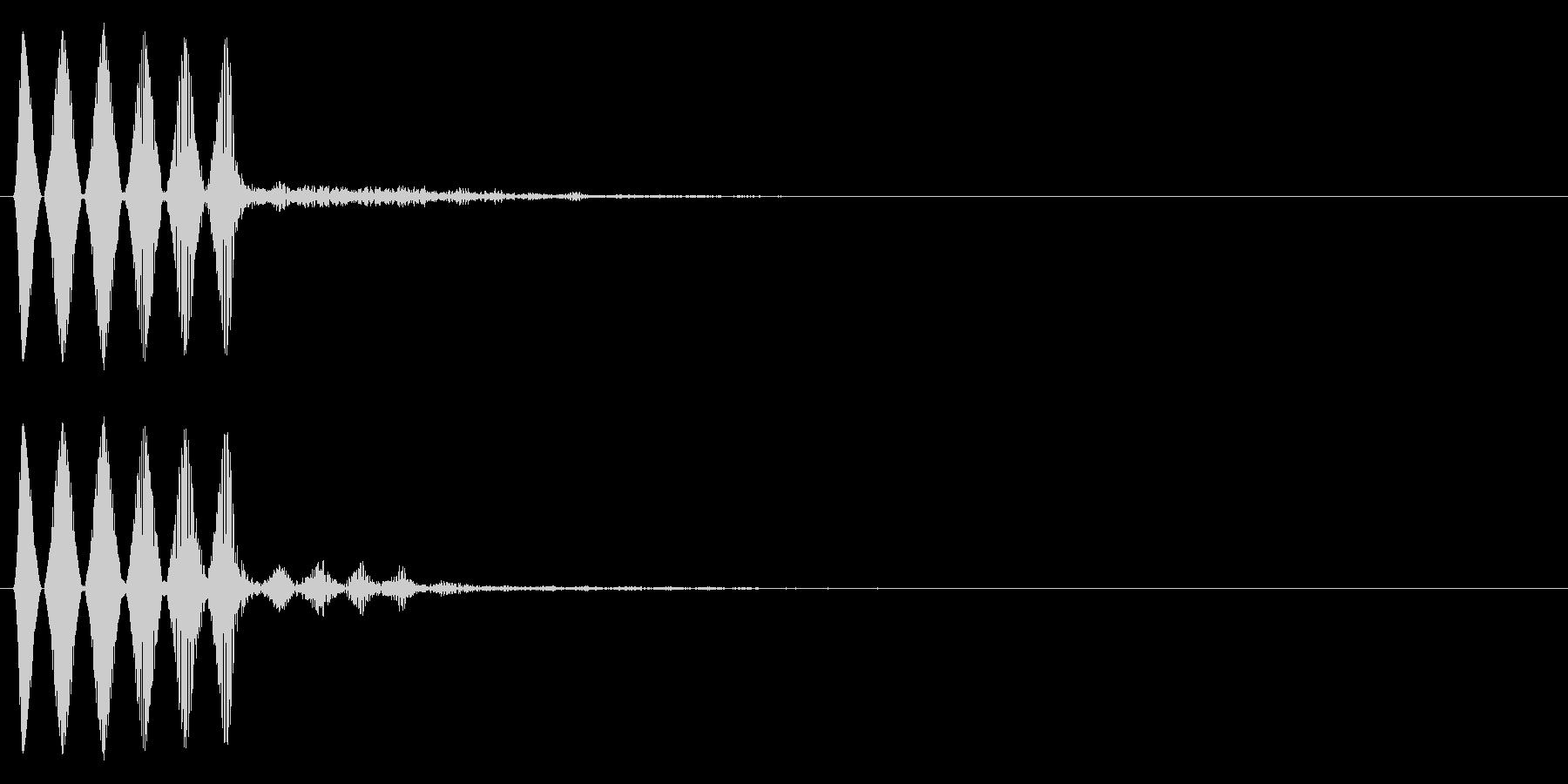 システム停止・閉じる・キャンセル_04の未再生の波形