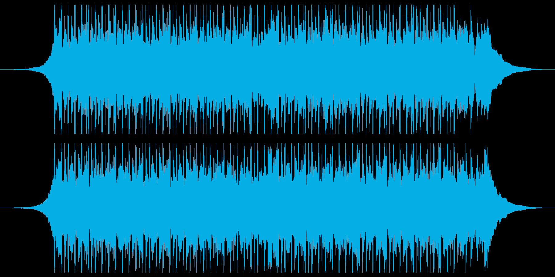 構築(ショート1)の再生済みの波形