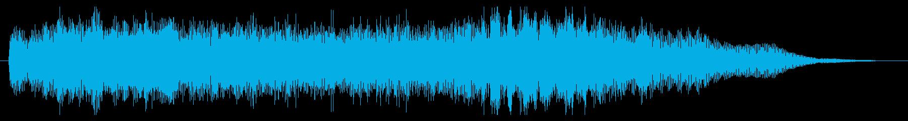 素材 大気フィードバックシンセサイ...の再生済みの波形