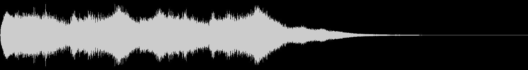 キンコンカンコン♪(町の時計台風)の未再生の波形