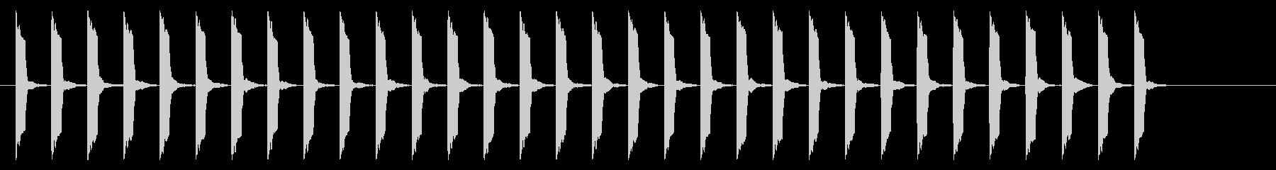 心電図の音-4-10(BPM130)の未再生の波形