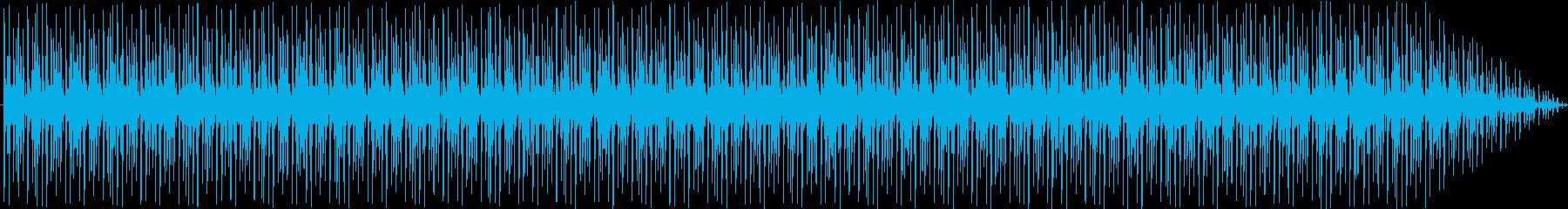 ループ。奇妙なメロディと繰り返しの...の再生済みの波形
