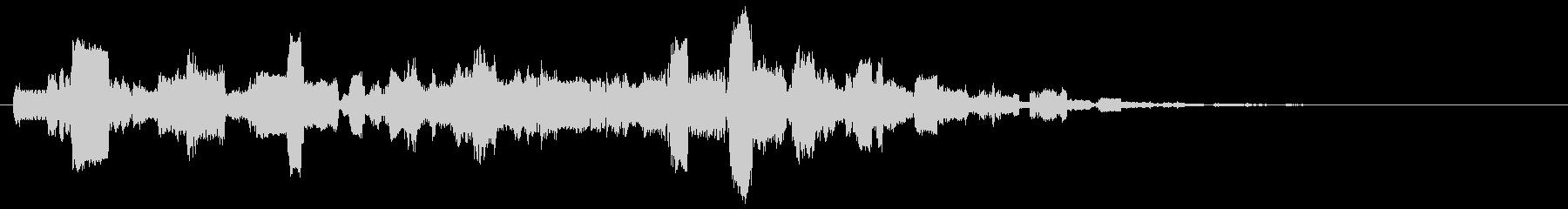 ピコーピコピコ(レトロなコンピューター)の未再生の波形