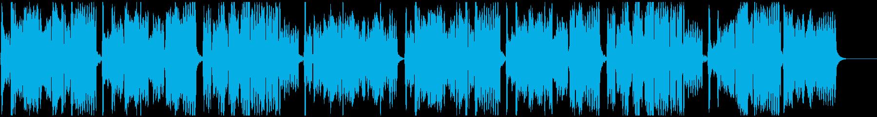 尺八二重奏による『花』の再生済みの波形