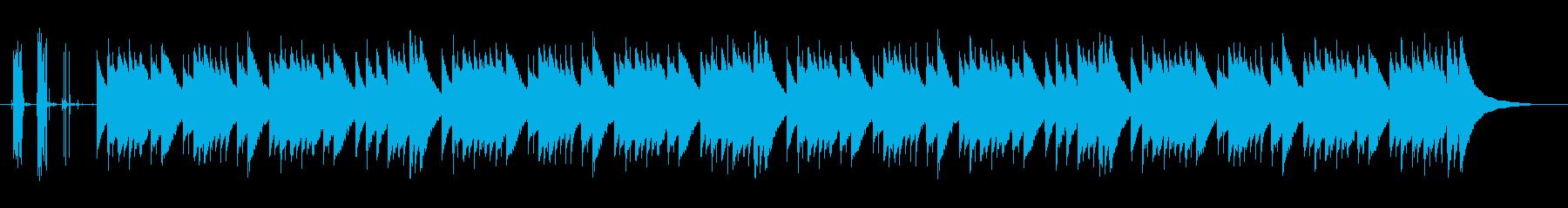 童謡☆どんぐりころころ☆リアルオルゴールの再生済みの波形
