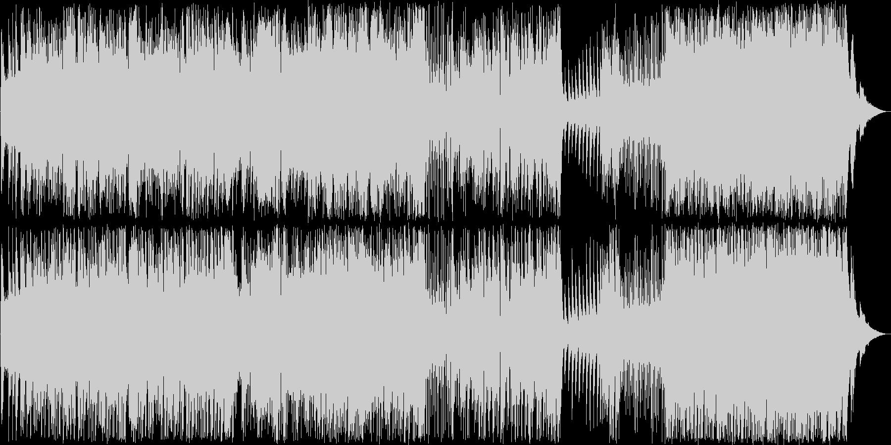 ポップなラテンジャズピアノ生演奏の未再生の波形
