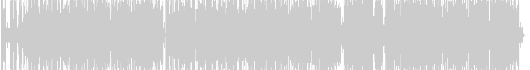 ジャズポップスの未再生の波形