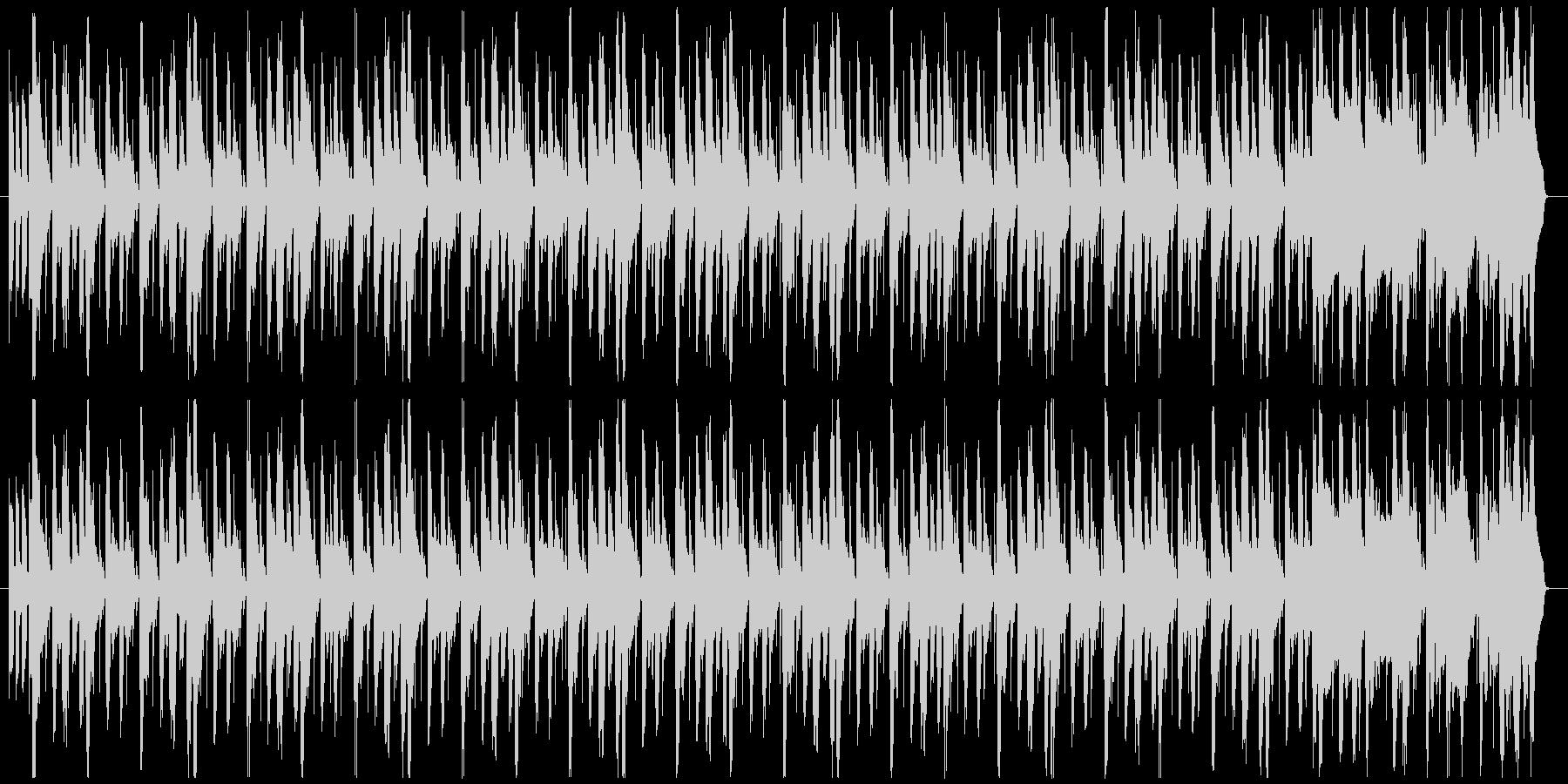 シンキングタイム〜タイムリミットの未再生の波形