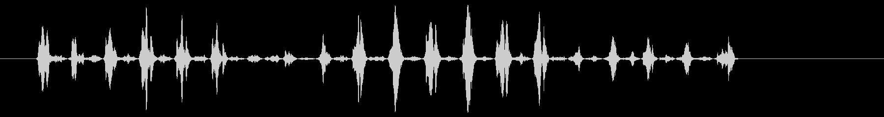 サンディングウッド3の未再生の波形