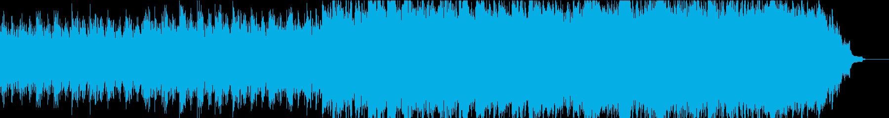 優しく感動的なピアノ+オケ①全楽器フルの再生済みの波形