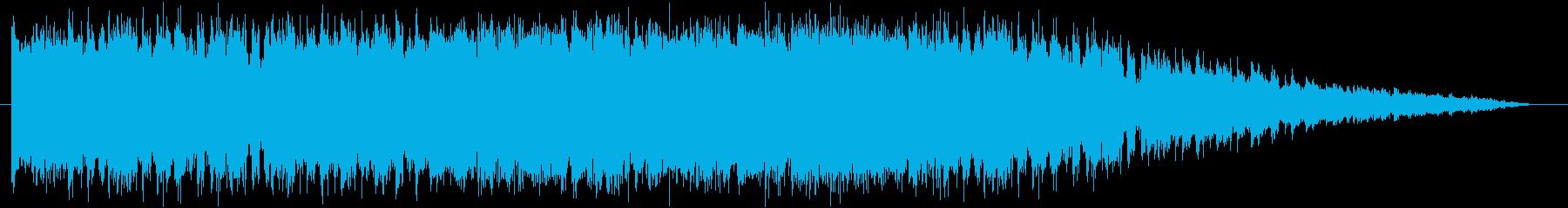 ちょいワルをイメージしたロックンロールの再生済みの波形