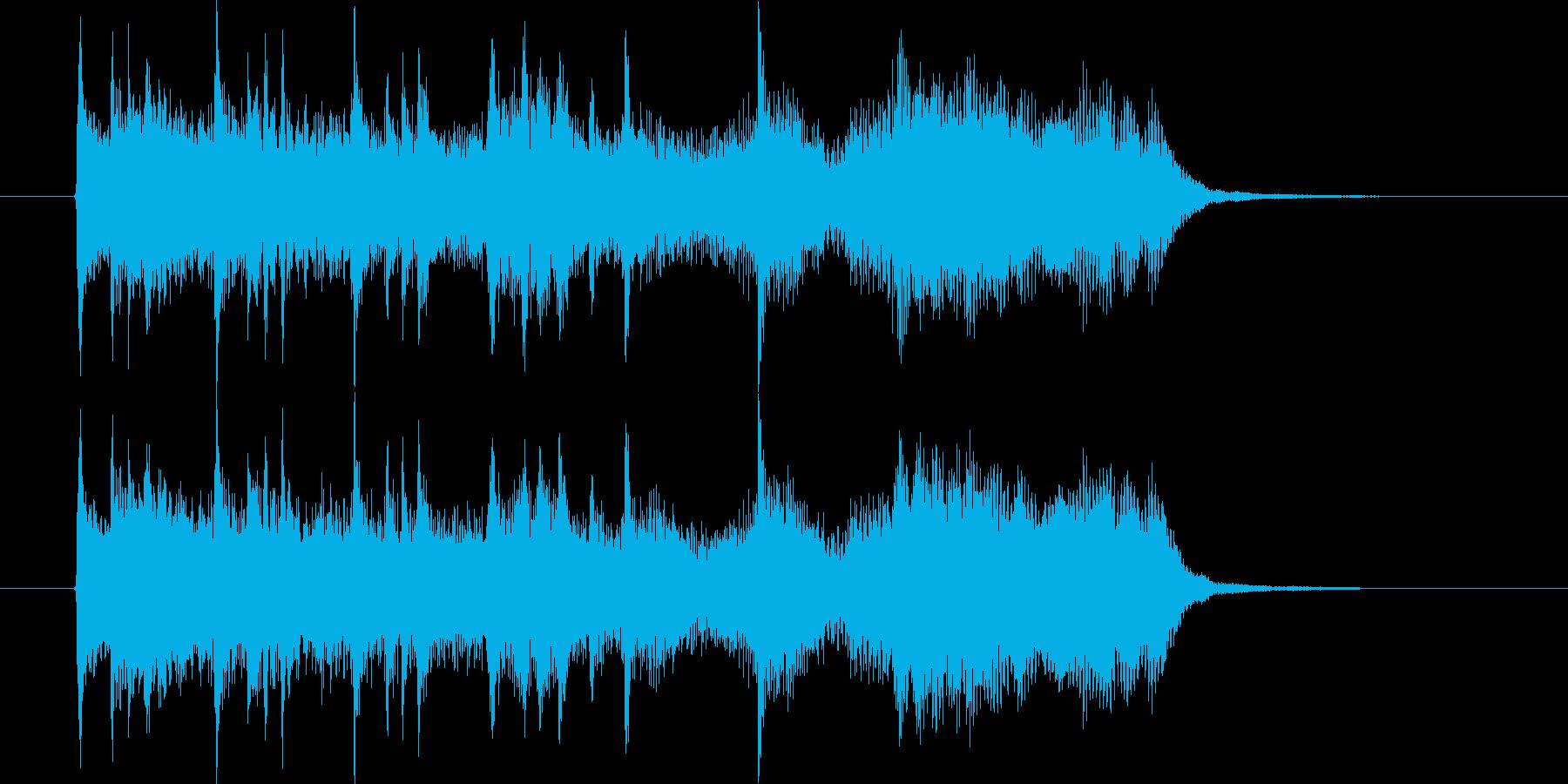 ミディアムテンポのチェンバロサウンドの再生済みの波形