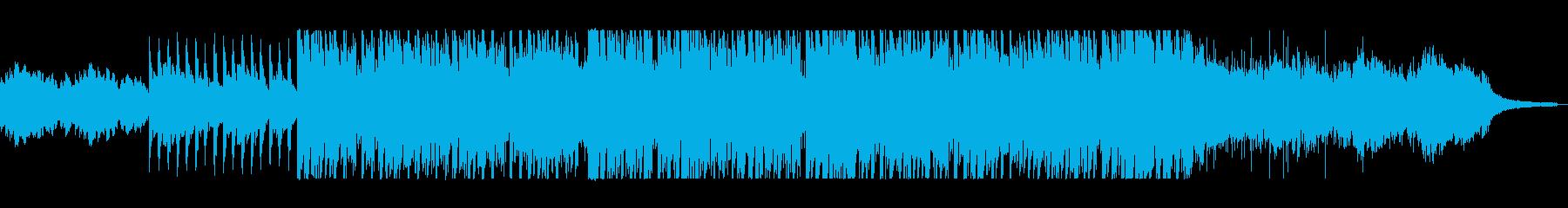 ピアノのメロディーがきれいの再生済みの波形