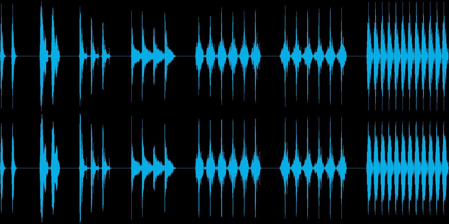 レーザー研磨、7バージョン、レーザ...の再生済みの波形