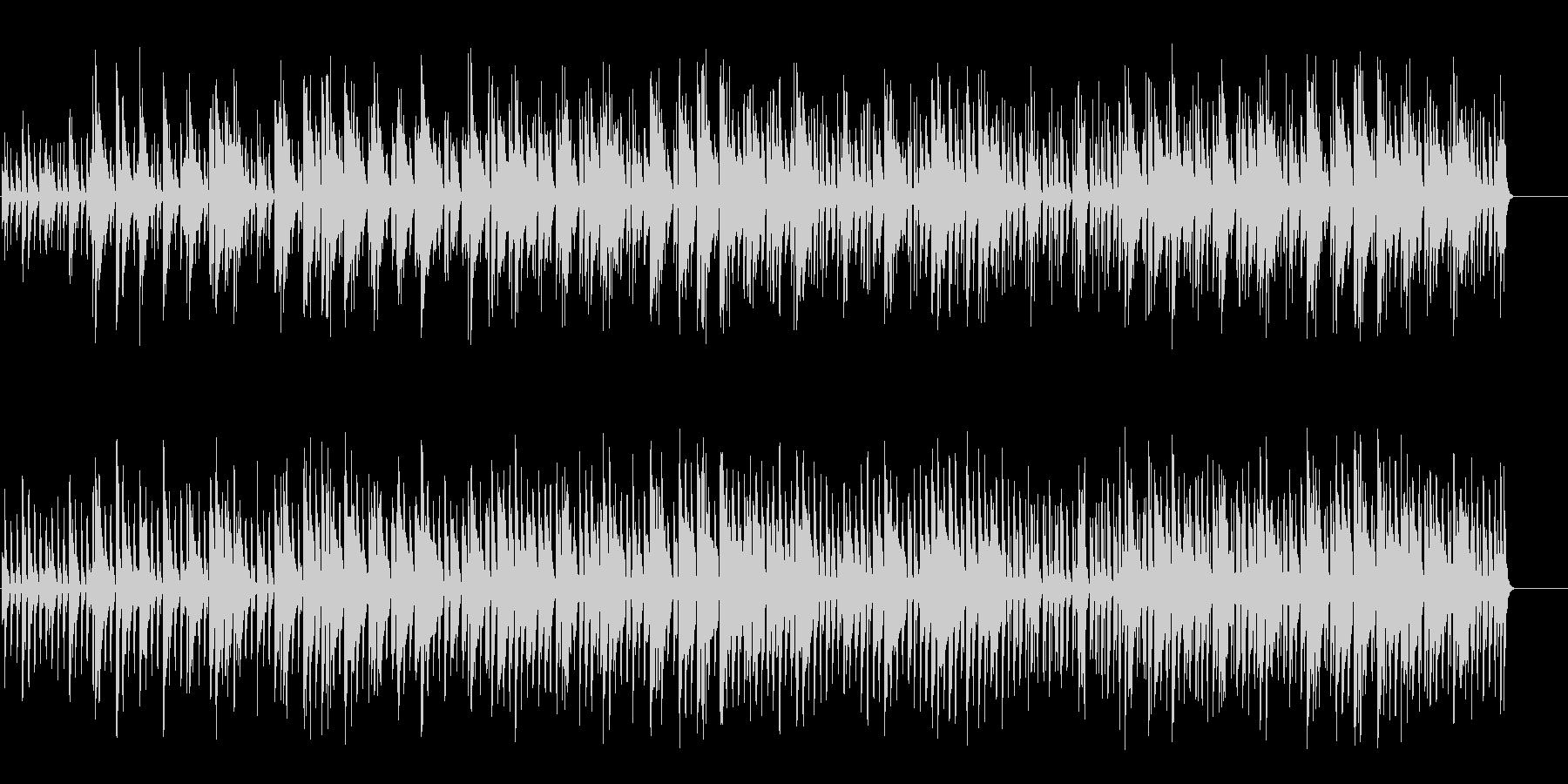 ハネムーン・ムードのボサノバ/ポップの未再生の波形