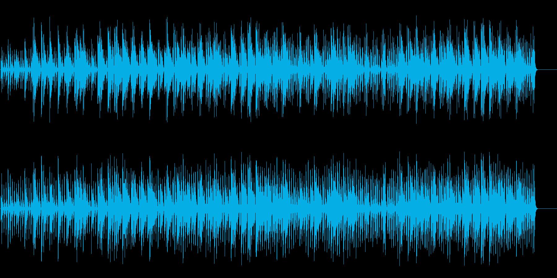 ハネムーン・ムードのボサノバ/ポップの再生済みの波形