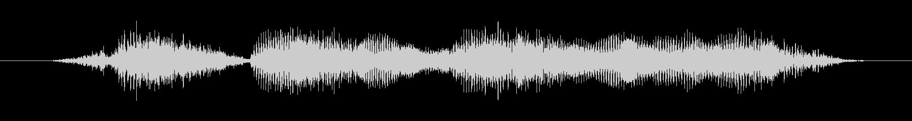 「セッティング完了」の未再生の波形