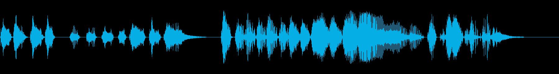 ドリル、電気ドリル、さまざまなショ...の再生済みの波形