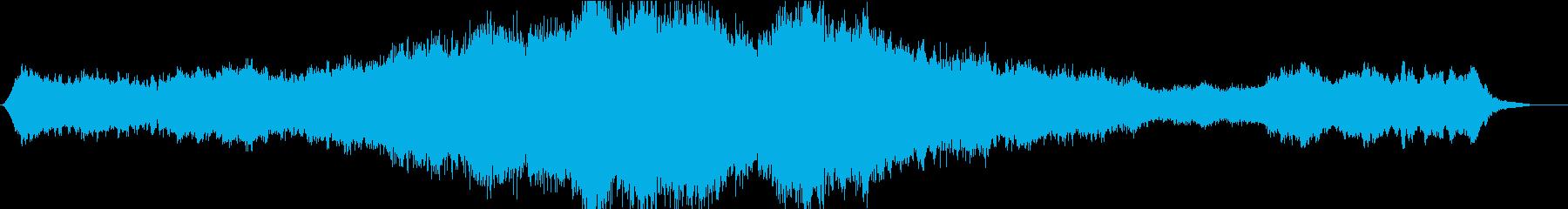 恐怖ホラー・サスペンス不気味オーケストラの再生済みの波形
