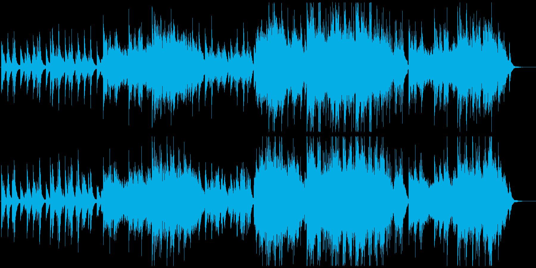 透明感ある優しく感動的なピアノ曲bの再生済みの波形