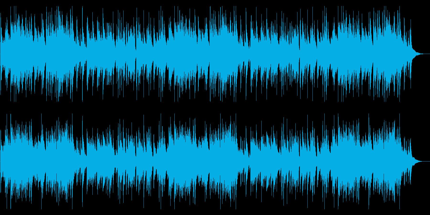 まどろみに落ちるようなゆったりしたジャズの再生済みの波形