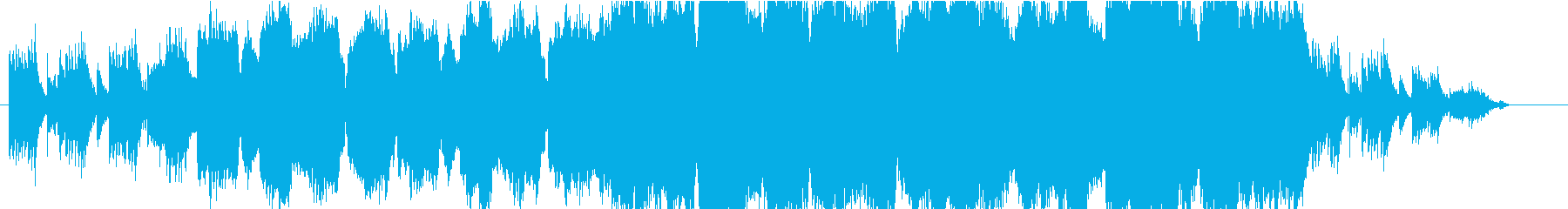 水を感じるダンジョン曲の再生済みの波形