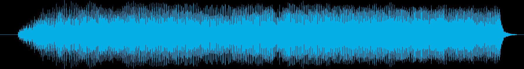 「あああああ」カルグラ発声の再生済みの波形