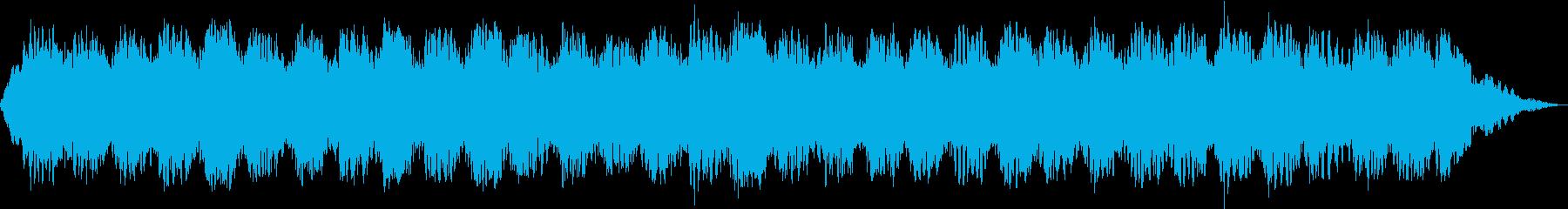 カウンセリングやリハビリに最適な音楽の再生済みの波形
